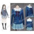 Más allá del límite Mitsuki Nase vestido azul traje Cosplay