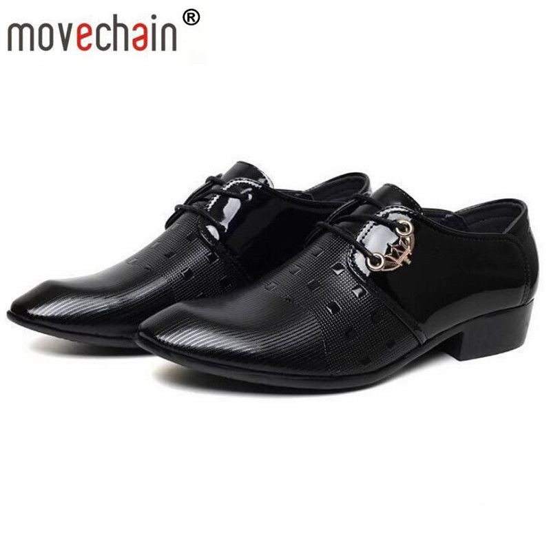 cde38581add Detail Feedback Questions about movechain Men s Lace Up Office Dress  Wedding Shoes Mens Casual Oxfords Suit Shoes Man Italian Leather Flats EUR  Size 38 47 ...
