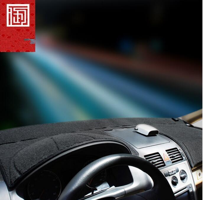 ταπετσαρίες ταπετσαριών Πλατφόρμα οργάνων αξεσουάρ σχεδιασμού αυτοκινήτων καλύμματα ταμπλό για τη VW Volkswagen Touran 2003 2011 2013 2015 2012