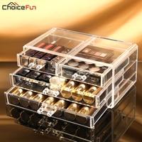Makeup Organizer Storage Box Rangement Maquillage Plastic Drawers Drawer Organizer For Cosmetics Organizador Maquillaje 1005 1
