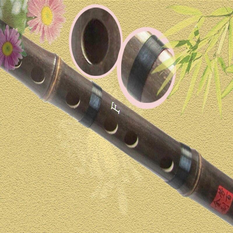 Çin bambuk fleyta musiqisi CDEFG düyməsini fleyta Flauta Bambu bir - Musiqi alətləri - Fotoqrafiya 5
