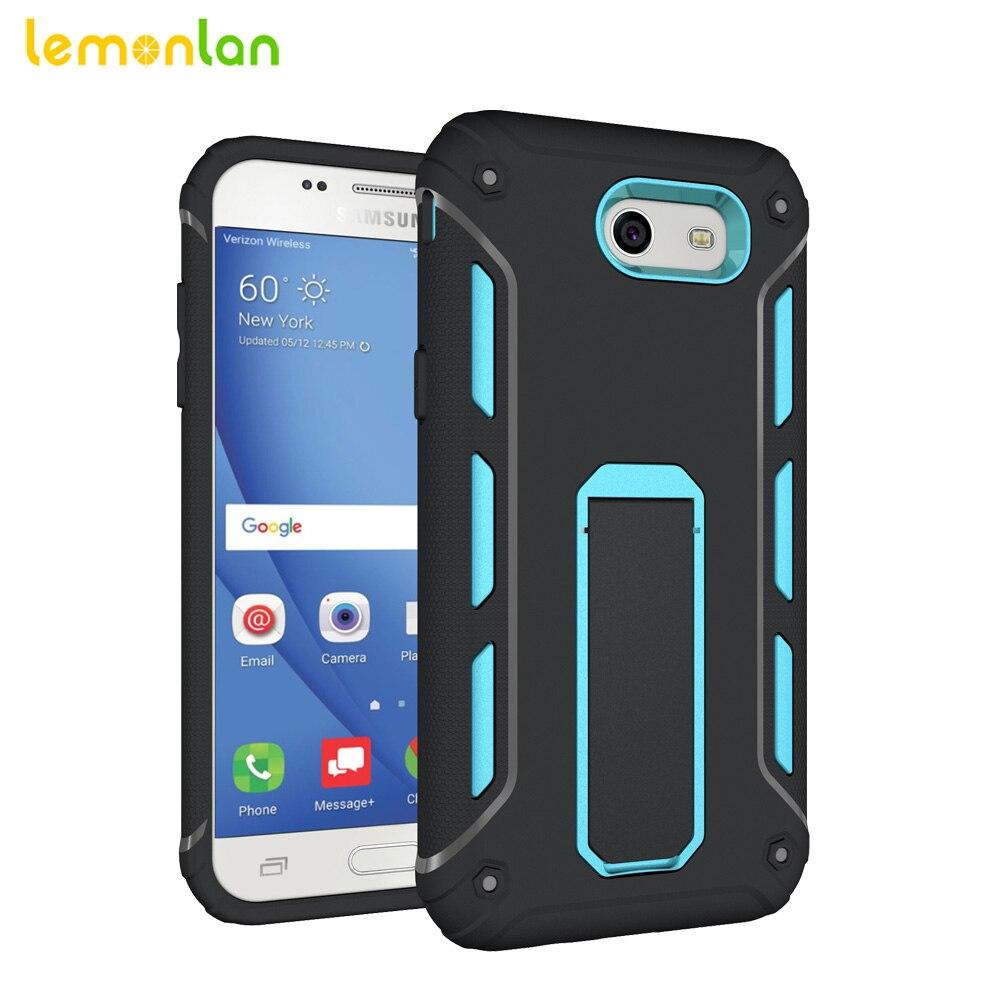 Lemonlan For Samsung J720 Phone Case Luxury Armor Anti Shock Silicon 2in1 Shark Hybrid Hard Soft Huawei P9 Cover Shell Galaxy J3 J7 2017 J3prime On Alibaba
