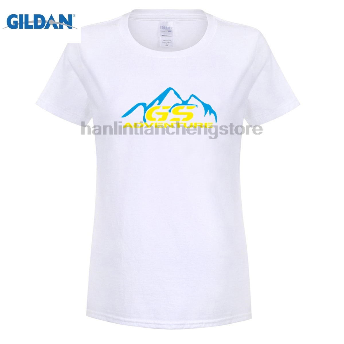 GILDAN Fashion Brand T Shirts women Summer Casual Tee Shirts fan Adventure For R 1100 1150 1200 Gs Gsa Driver custom T Shirts