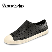 21Colors Women Native Jefferson Shoes Sandals 2017 Fashion Lovers Hole Shoe Brand Flat Casual Native Summer Shoes size 35-44
