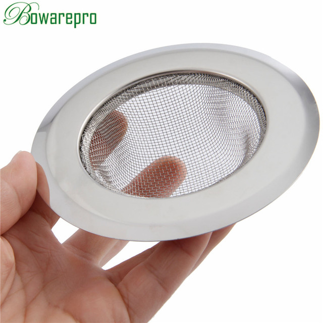 bowarepr Catcher Stopper Shower Drain Hole Filter Trap Metal Sink ...