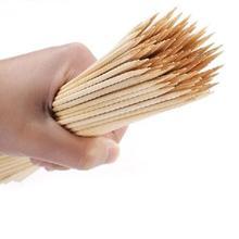 Bamboo Skewers Bbq-Sticks-Tools Tornado Wooden 90pcs/Lot 20cm--3mm Natural