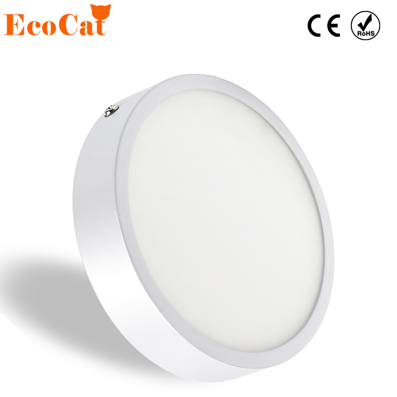 LED Ceiling Light Surface Mount 5W 8W 16W 22W 30W 220V 230V 110V round led panel lamp cold white warm white for Foyer mlsled mls xd32 16w 16w 1100lm 160 smd 3014 led white ceiling light white 100 240v