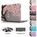 Япония вишни розовый красивые печатные Чехол Для Нового Apple MacBook Pro 13 15 с Сетчатки Mac Air 11.6 12 13.3 дюймов крышка