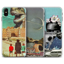 Vintage Art Collage aesthetic Coque Phone Case Cover Shell For Apple iPhone 5s Se 6 6Plus 6s 6sPlus 7 7Plus 8 8Plus X XR XS MAX(China)