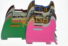 KAISH Vintage Tele Style 5 Hole Pickguard Various Colors  for Telecaster Guitar