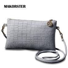 MAKORSTER Fashion Brands vintage women shoulder bag famous brand messenger bags small crossbody Bags for women designers DJ0101