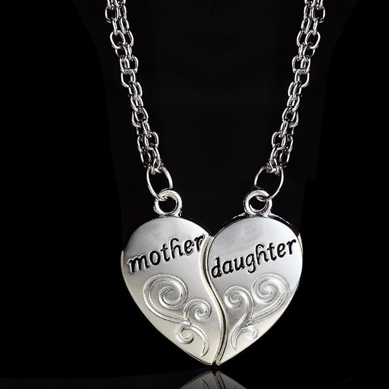 HTB18SwiNXXXXXXbXFXXq6xXFXXXI - Mother & Daughter Heart Design Pendants