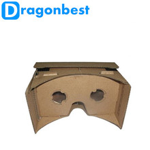 Cardboard 3D VR Glasses Virtual Reality Goggles  DK2 for iPhone 6 Plus 4.7 ~ 5.5 inch Android & iOS Smartphone