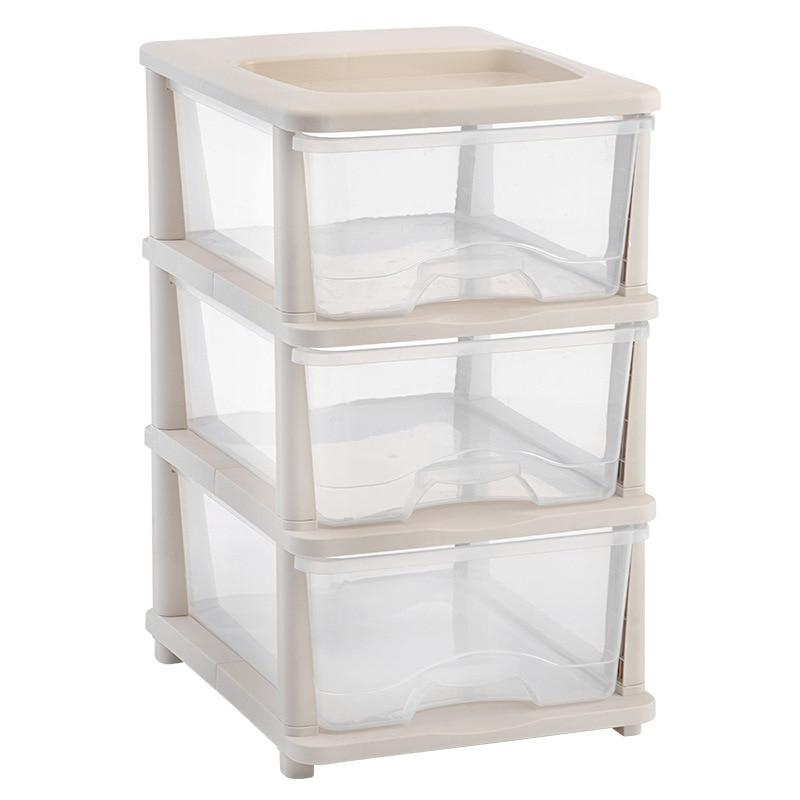 Cheap Plastic Three Drawer Storage Cabinet Finishing Cabinet ...