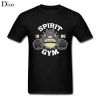 Totoro T-shirt For Men Homme Short Sleeve Thanksgiving Day Custom 3XL Family Camiseta