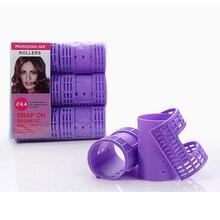 3 упаковки 18 шт. диаметр 4,4 см оснастки на волосы ролики Паровая завивка Flexi стержни с зажимами зажимы волшебные бигуди Air Bang бигуди 1357