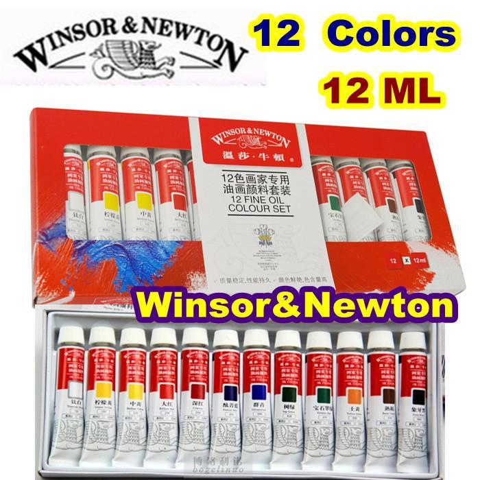 World Famous Professional Oil Paints Brand Oil Paints Canvas Pigment Art Supplies Paint Color Acrylic Paint 12 Colors 12 ML