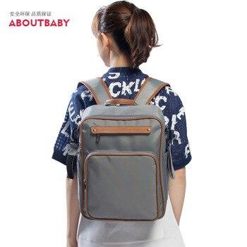 милый рюкзак сумка для пеленок | Водонепроницаемый рюкзак сумка под подгузники Функциональная сумка для подгузников большой рюкзак для подгузников Милая Детская сумка дл...