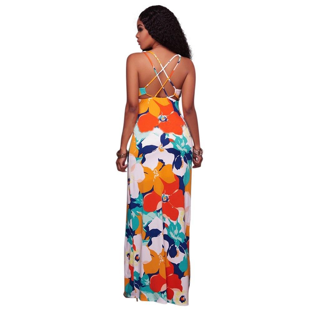 f6e9363978 Bohemian European Style Women Dress Top Quality Low Price Sexy Clothes  Vintage Print Beach Summer Dress Vestidos De Festa-in Dresses from Women's  Clothing ...