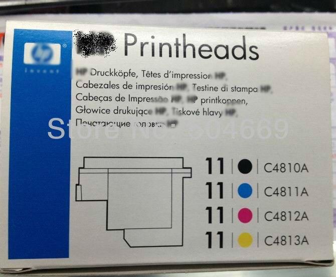 H 11Original new print head Designjet 70/100/110/111/500/510/800/815/820 Coior Inkjet 1700 Officejet 9110Original new print head