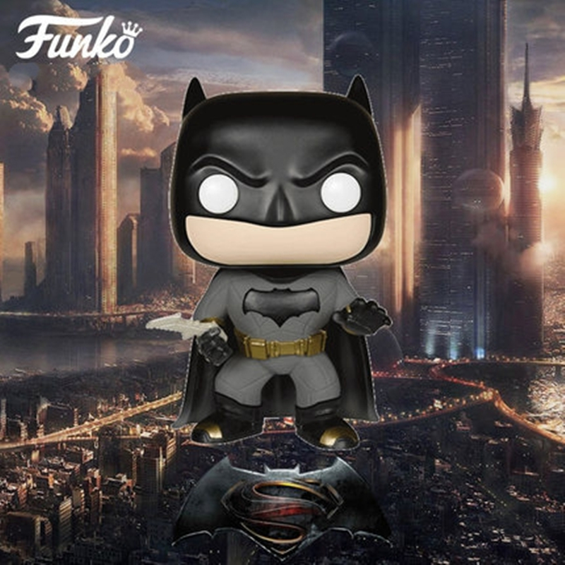 Funko POP Batman Batman VS Superman Dawn of Justice Action Figure With Original Box Super Hero Toy Collection Doll  marvel deadpool funko pop super hero pvc ow batman action figure toy doll