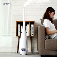 220V 5L Household Low Noise Fragrance Remote Control LED Display Timing Humidifier Atomizer 380ml H Humidification