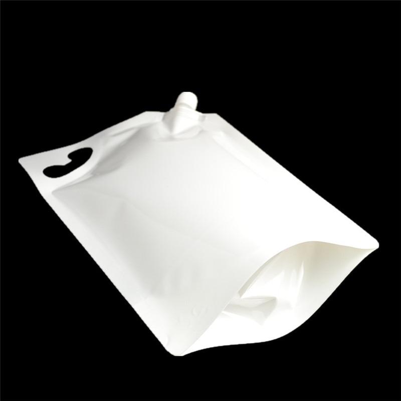 600pcs/lot 2000ML Portable Independence bags Liquid laundry Shower Gel Hand soap Water Milk juice Nozzle Bag 21cmx31.5cm