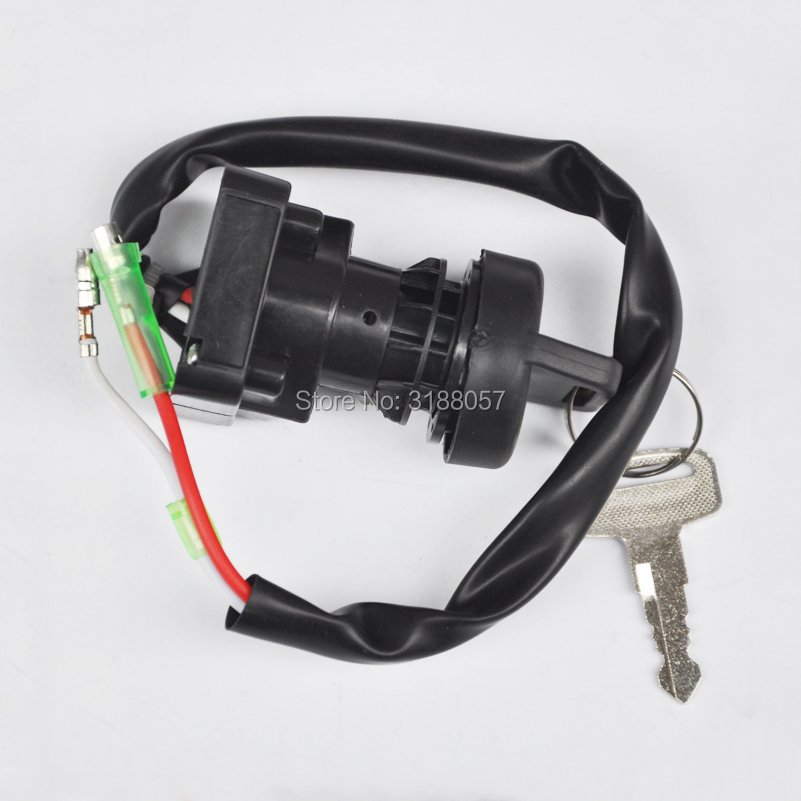 IGNITION KEY SWITCH FITS KAWASAKI KVF300 PRAIRIE 300 4X4 B1 A1 1999 ATV SWITCH