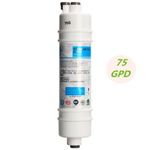 75 Gallon RO Membrane 10 Inch Quick Connect Plug-In 75G RO Reverse Osmosis Membrane Filter For Household Water Purifier Machine цена