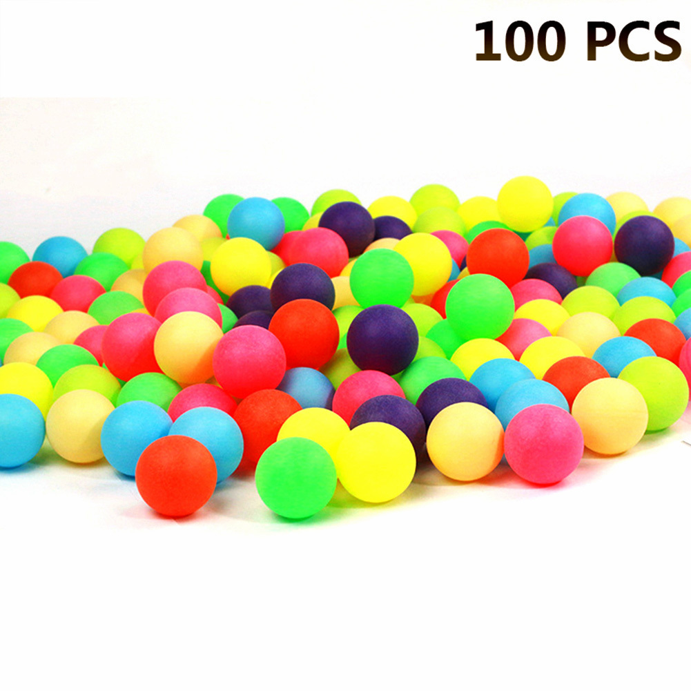 50/100Pcs Entertainment Table Tennis Balls Ping Pong Pingpong Balls For Game Advertising