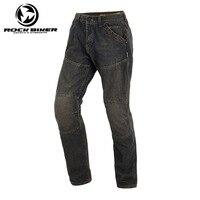 ROCK Байкер Moto rcycle Штаны Moto Cross Jeans Moto rbike Рыцарь брюки плюс Для мужчин спортивные джинсы Штаны ветрозащитный Pantalones de moto