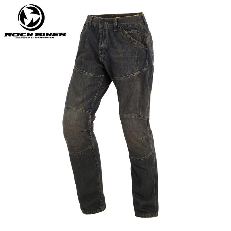 ROCK BIKER Motorcycle pants Motocross jeans Motorbike knight trousers Plus Men Sport jeans pants Windproof pantalones de moto new 2017 brand men s jeans casual straight hole men jeans men denim trousers biker jeans free shipping