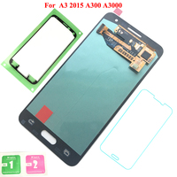 FIX2SAILING 100 Tested Working AMOLED LCD Display Touch Screen Assembly For Samsung Galaxy A3 2016 A310