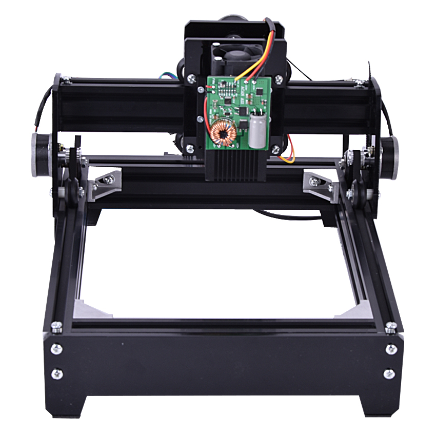 1 pc bricolage 10 W machine de gravure laser, machine de marquage, gravure Miniature métal, fer, céramique, zone de gravure 140mm * 200mm