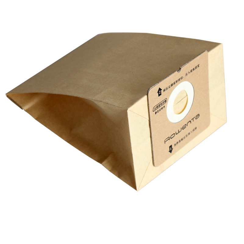 5 Pcs Vacuum Cleaner Bag Dust Bags Replacement For Rowenta ZR0049 ZR0007 RO1121 RO1122 RO1124 RO1132 RO1136 RO1321 RO1336 RO1131