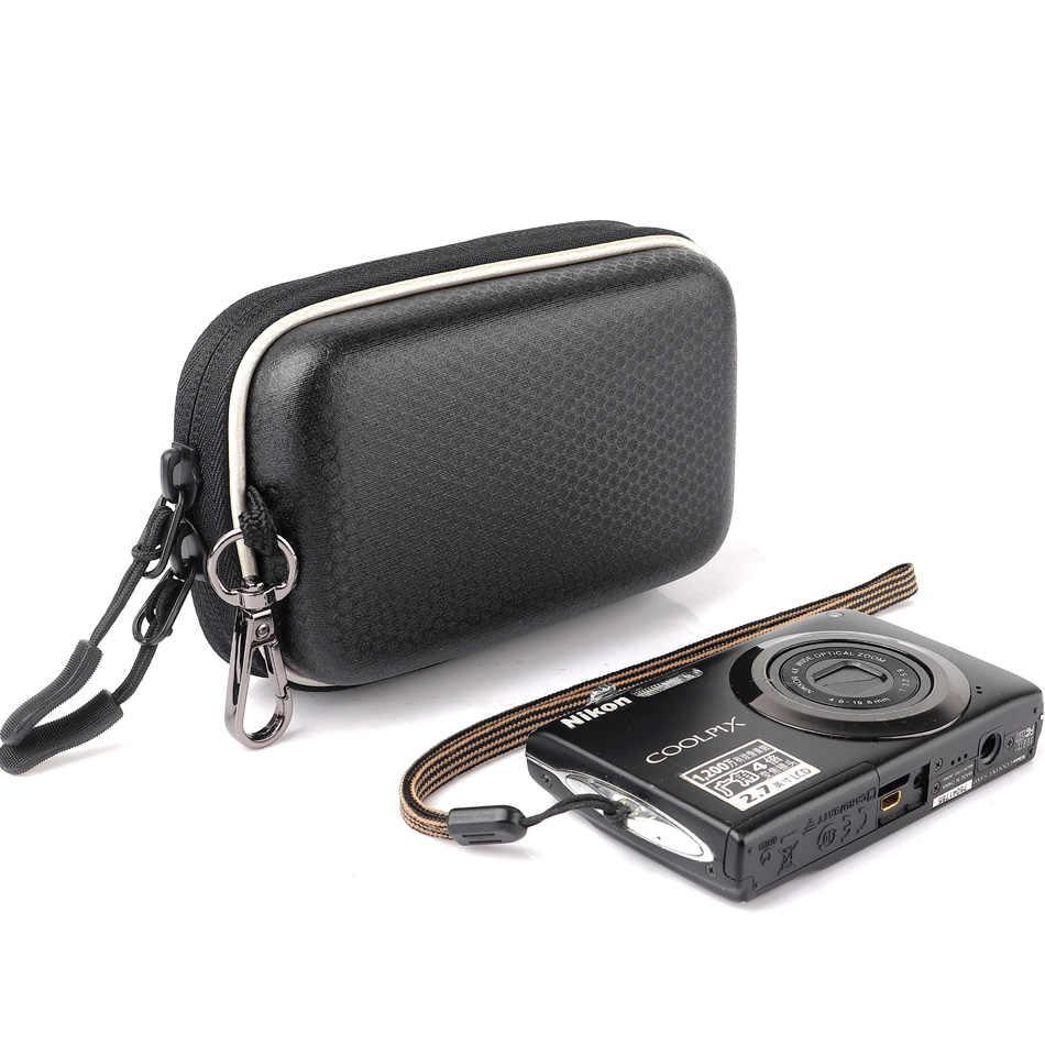 Твердый чехол для фотоаппарата чехол для Nikon CoolPix S8600 S8200 S8000 S7000 S6900 S6800 AW110 AW100 A300 A100 A10 L32 L31 поясная сумка