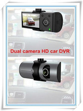 Dual Camera lens Car DVR with GPS tracking G-Sensor 2.7″ LCD FHD 1080P Auto Vehicle black box Parking Recorder Video Camcorder