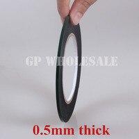 HK Post Free 0 5mm Thick 3mm Double Sided Sticky Black Foam Sponge Tape Gasket