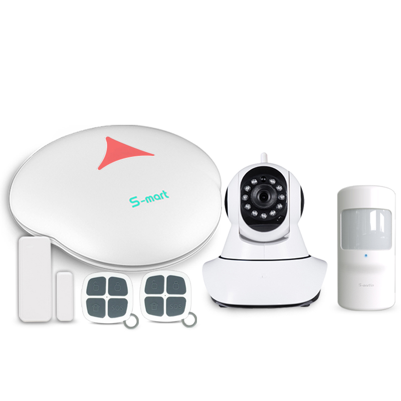 433mhz S3 Android/IOS App control WiFi PSTN security anti-burglar alarm system & WiFi network wireless home alarm system