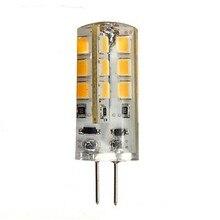 5X HRSOD G4 3W 24 SMD 2835 270 LM Warm White Cold White LED Bi-pin Lights DC 12 V цена