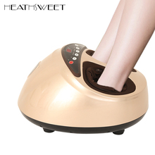 Healthsweet 1pc 3D Electric Foot Massager Machine With Air Compression Thermal Therapy For Health Care,Relaxation A318