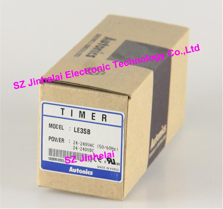 100% New and original LE3SB Autonics Timer relay цены онлайн