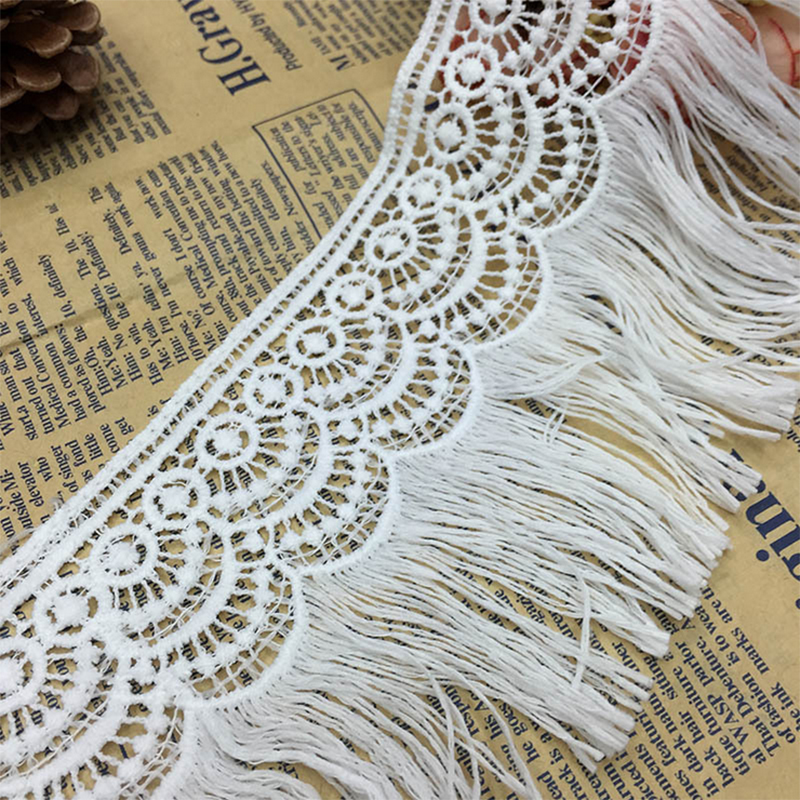 9x90cm-DIY-White-Embroidered-Lace-Fabric-Water-Soluble-Lace-Edge-Trim-Tassels-Craft-Cloth-for-Wedding (2)