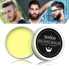 Sevich Natural Beard Wax Product Conditioner Balm Healthy Moisturizing Care Lubricating Hair 30g For Men