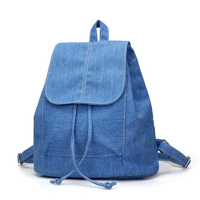 фото джинсовый рюкзак