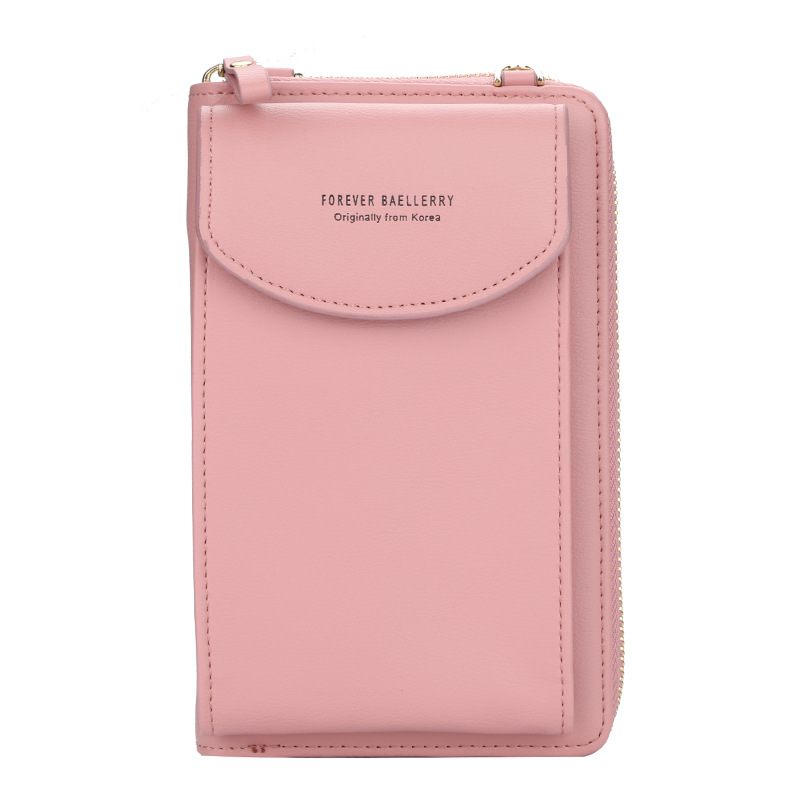 Handbag Purse Wallet Clutch Shoulder-Straps-Bag Cell-Phone Big-Card-Holders Messenger