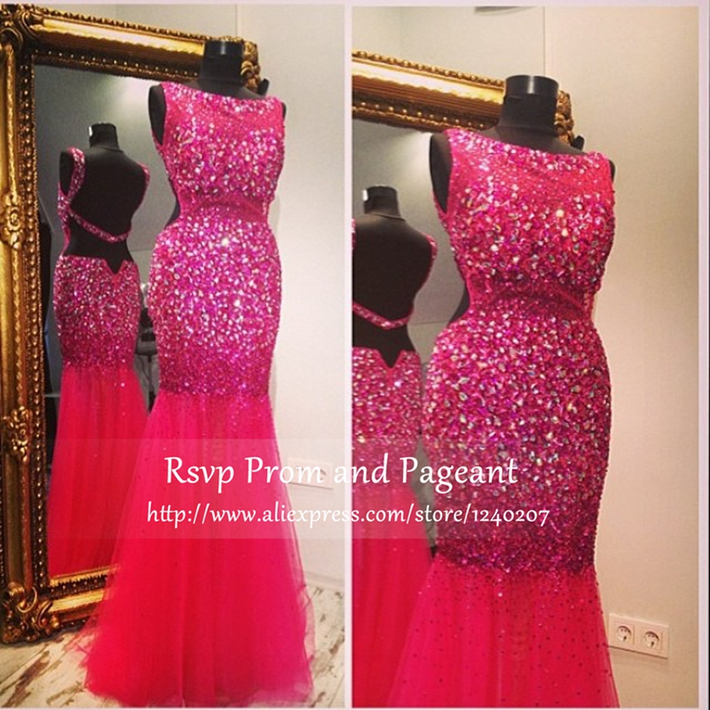Popular Hot Pink Prom Dresses-Buy Cheap Hot Pink Prom Dresses lots ...