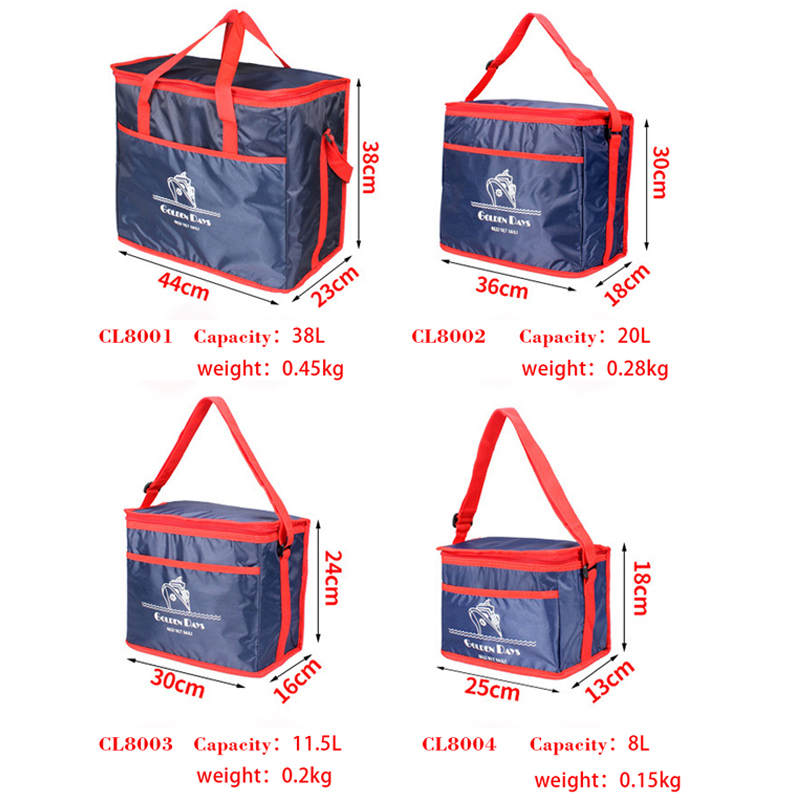 Купить с кэшбэком SIKOTE Extra Large Thickening Cooler Bag Ice Pack Insulated Lunch Bag Cold Storage Bags Fresh Food Picnic Container