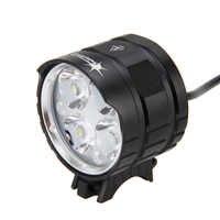 SolarStorm 8000LM 4x T6 LED tête torche avant vélo vélo lumière vélo lampe lampe torche