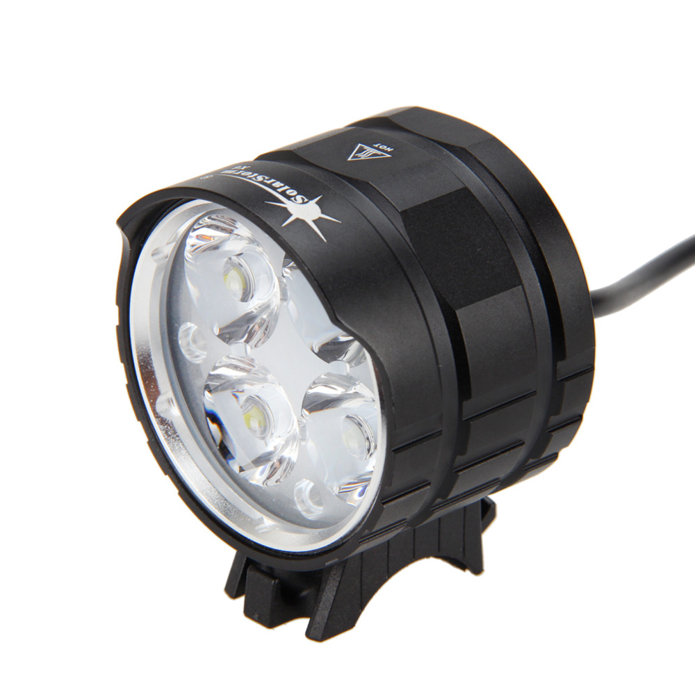 SolarStorm 8000LM 4x  T6 LED Head Torch Front Bicycle Cycling Light Bike Lamp Flashlight Torch